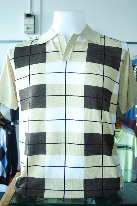 เสื้อผ้าผู้ชาย แขนสั้น Cotton เนื้อดี งานคุณภาพ รหัส MC1635 (Size M)