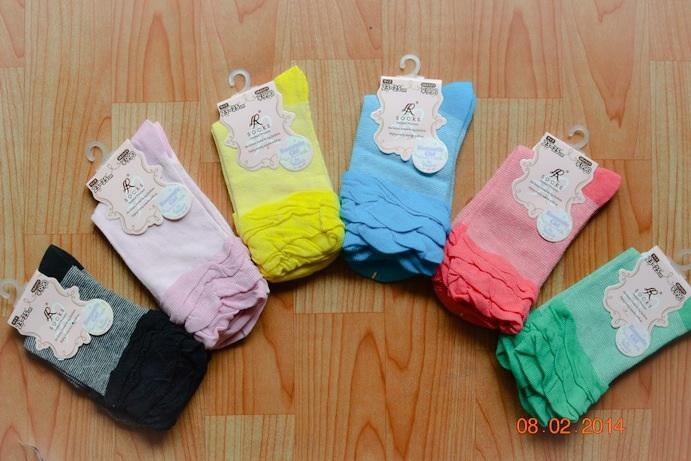 S159**พร้อมส่ง** (ปลีก+ส่ง) ถุงเท้าแฟชั่น งานญี่ปุ่น เนื้อดี งานนำเข้า(Made in china) มี 10คู่/แพ็ค