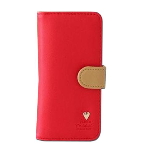 กระเป๋าสตางค์ สีแดง