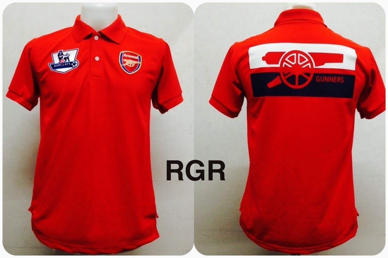 เสื้อโปโล อาร์เซนอล สีแดง RGR