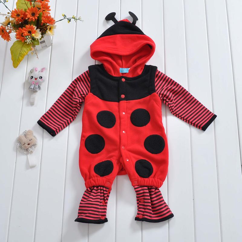 พร้อมส่ง เสื้อผ้าเด็กทารก เพศหญิง-ชาย 0-6-1-2 ปี ราคาส่งจากโรงงาน ชุดกันหนาว Romper รหัส YH556 สีแดงลายเต่าทอง1 ชุด ไซร์ 70 (ส่วนสูง 59-66 cm )