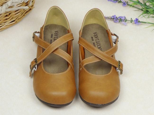 [พร้อมส่ง ] & Pre-Ordr รองเท้าตุ๊กตา-สีน้ำตาล