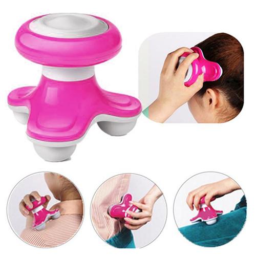 Mini Massager เครื่องนวดไฟฟ้าแบบพกพา สีชมพู