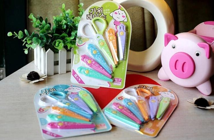ชุดกรรไกร children's art lace scissors