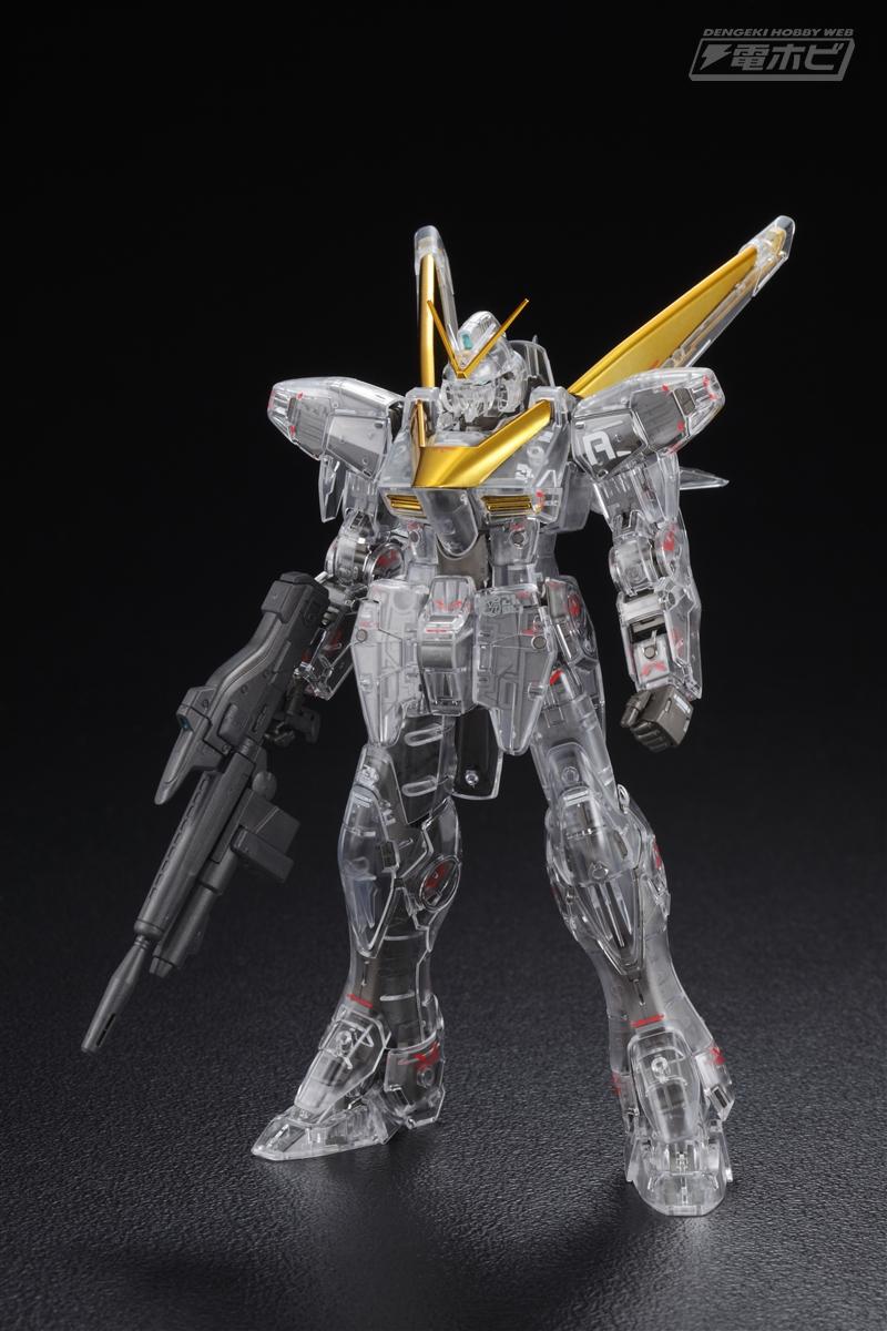 [Expo] MG 1/100 V2 Gundam Ver. Ka Mechanical Clear / Gold Plated Ver.