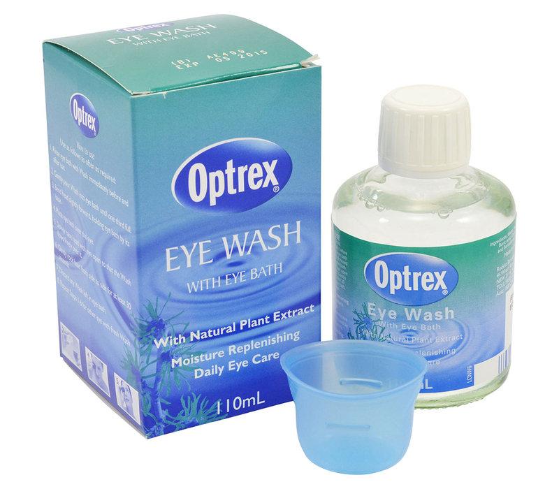 Optrex Eye Lotion 110 mL น้ำยาล้างตา สำหรับคนแต่งหน้า เบ้าตาจัดเต็ม ล้าง eyeliner/eye shadow