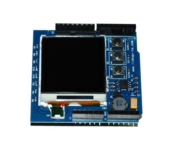 Color Image LCD Shield (จอ Nokia 6100) ยี่ห้อ LinkSprite