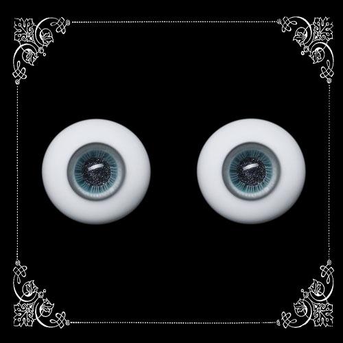 16 MM. star blue glass eyeball