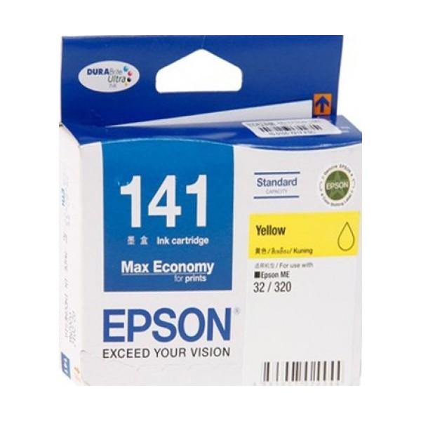 Epson T141490 (T141) หมึกพิมพ์อิงค์เจ็ต สีเหลือง Yellow Original Ink
