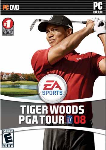 Tiger Woods PGA Tour 08 ( 1 DVD )