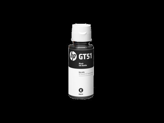 HP GT51 น้ำหมึกเติมแบบขวด สีดำ ของแท้ Black Original Ink Bottle (M0H57AA)