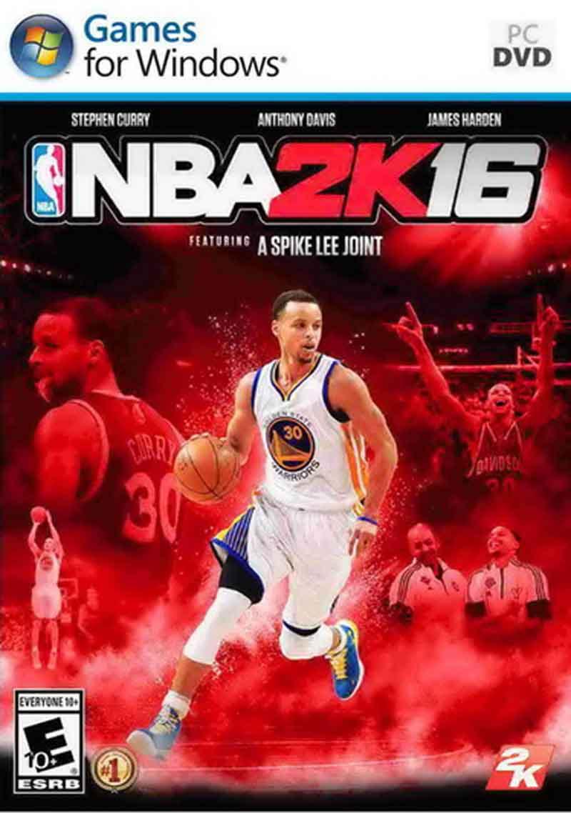 NBA 2K16 ( 10 DVD )