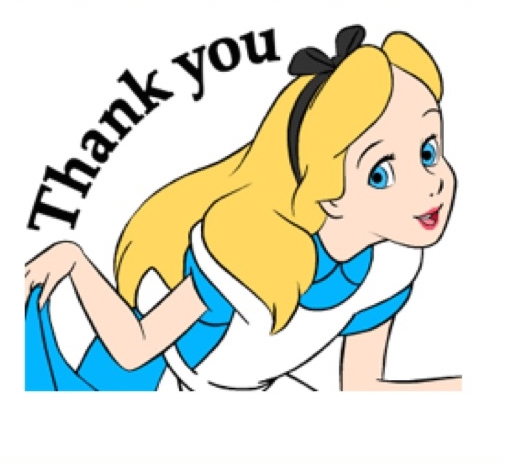 Alice In Wonderland Animated Stickers