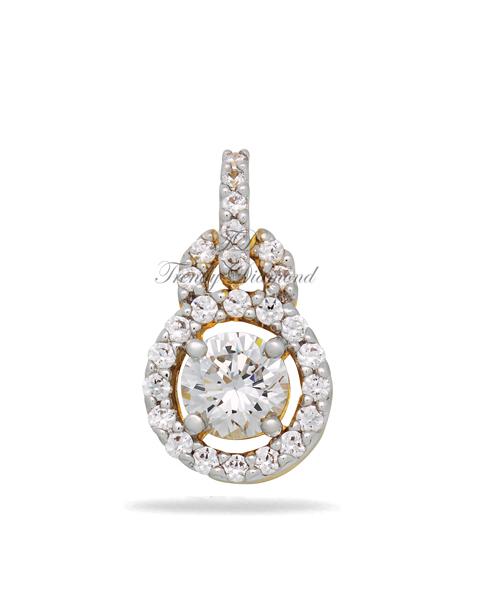 จี้เพชร จี้เพชร Queen of Tiffany สีทอง