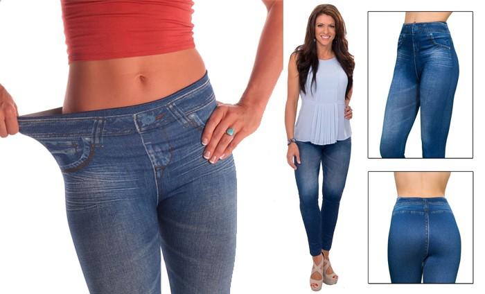 กางเกงยีนส์ลดกระชับสัดส่วน Slim n lift caresse jeans