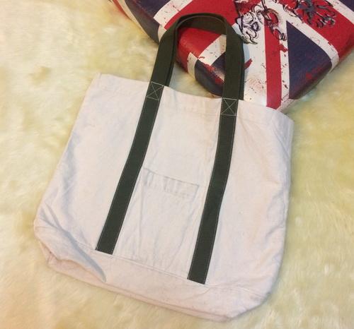 bag07 กระเป๋าผ้าดิบญี่ปุ่น