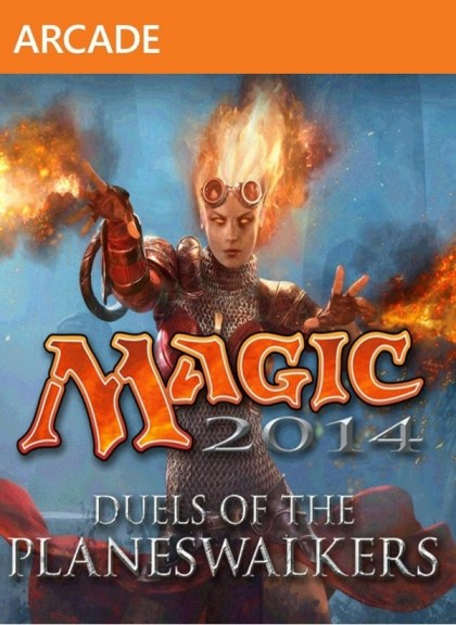 Magic The Gathering Duels of the Planeswalkers 2014 ( 1 DVD )