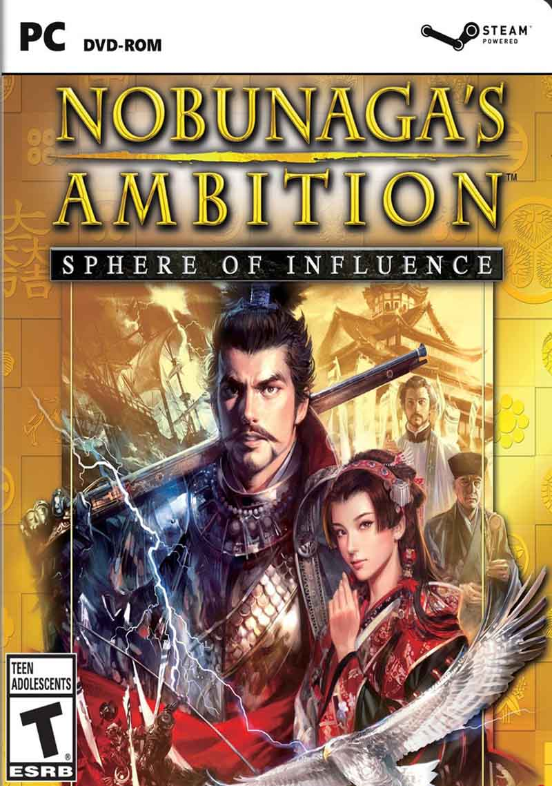 Nobunagas Ambition Sphere of Influence ( 2 DVD )
