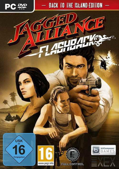 Jagged Alliance Flashback ( 1 DVD )