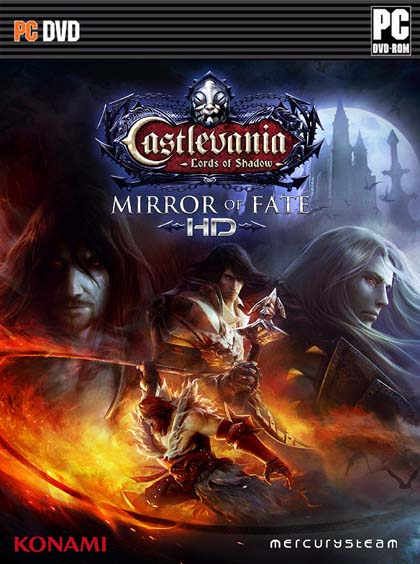 Castlevania Lords of Shadow Mirror of Fate HD ( 1 DVD )