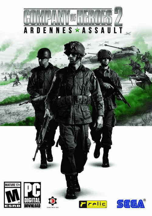 Company of Heroes 2 Ardennes Assault ( 5 DVD )