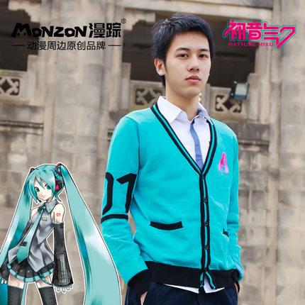 เสื้อถัก Hatsune Miku(ฟ้า)