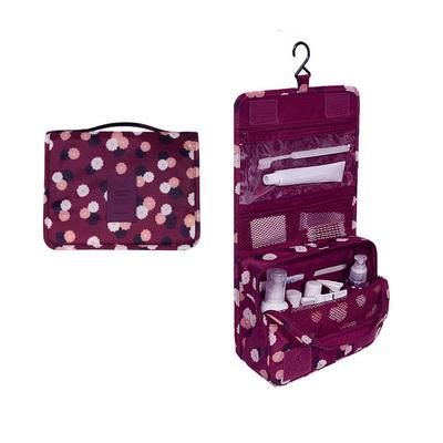 (สีไวน์แดง) กระเป๋าสะพายกันน้ำพกพาพับเก็บได้ ขนาด 24 x 19 CM