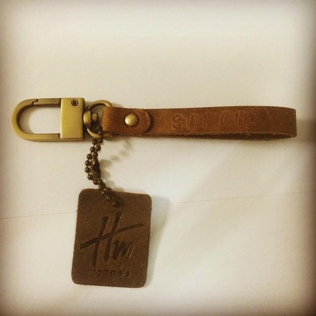 พวงกุญแจ Homme's หนังแท้