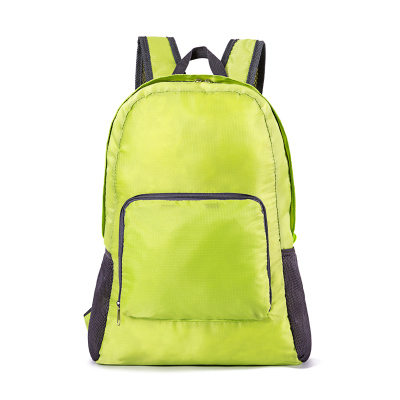 (สีเขียว) กระเป๋าสะพายกันน้ำพกพาพับเก็บได้ ขนาด 44 x 28 CM