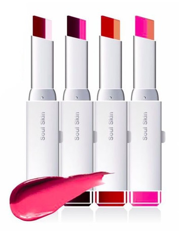 Soul Skin Lipstick Bar Two Tone Lip โซล สกิน ลิปทูโทน แนวใหม่จากเกาหลี