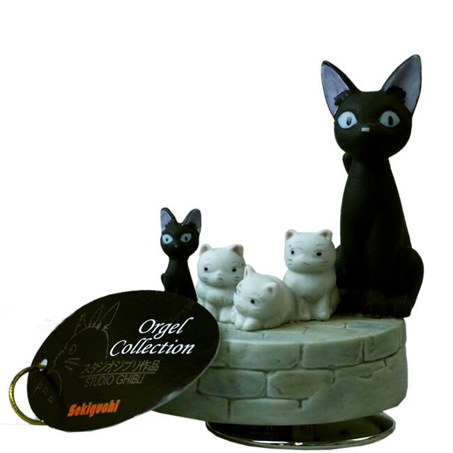 กล่องเพลง Kiki's Delivery Service Ceramic Music Box (Jiji's Family)