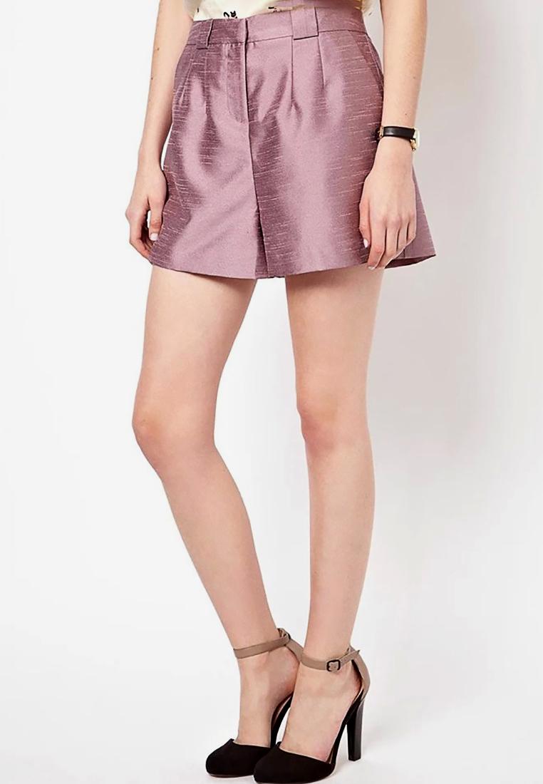 กางเกงขาสั้น Sassy High Waist