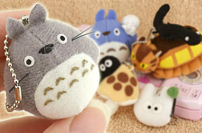 ชุดพวงกุญแจ My Neighbor Totoro