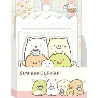 กล่องกระดาษเมโม Sumikko Gurashi (ถ้วยกาแฟ)