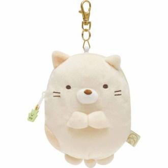 กระเป๋าใส่เหรียญยืดได้ Sumikko Gurashi แมว