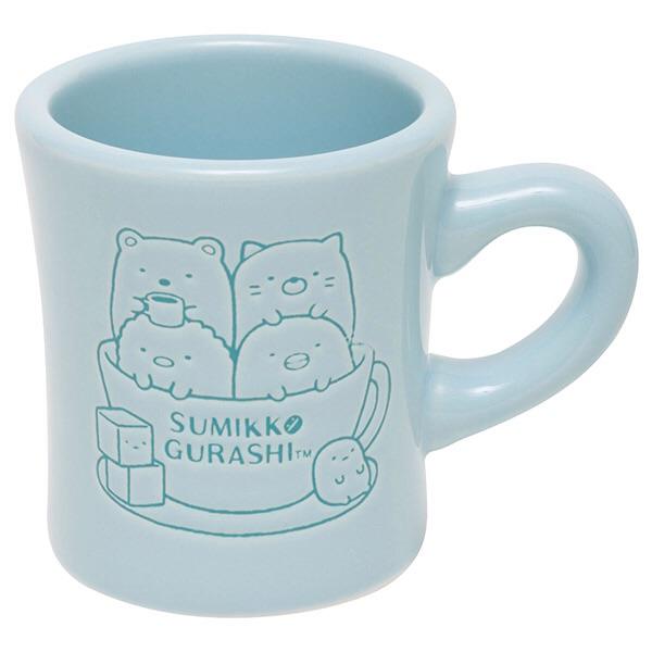 แก้วมัคร้านกาแฟ Sumikko Gurashi สีฟ้า